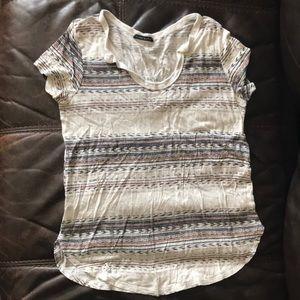 Aztec print t shirt